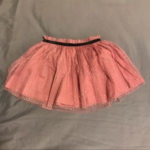 Pink tulle skirt 24 months NWT